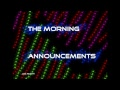 PTHS Morning Announcements Live Stream - December 5, 2017