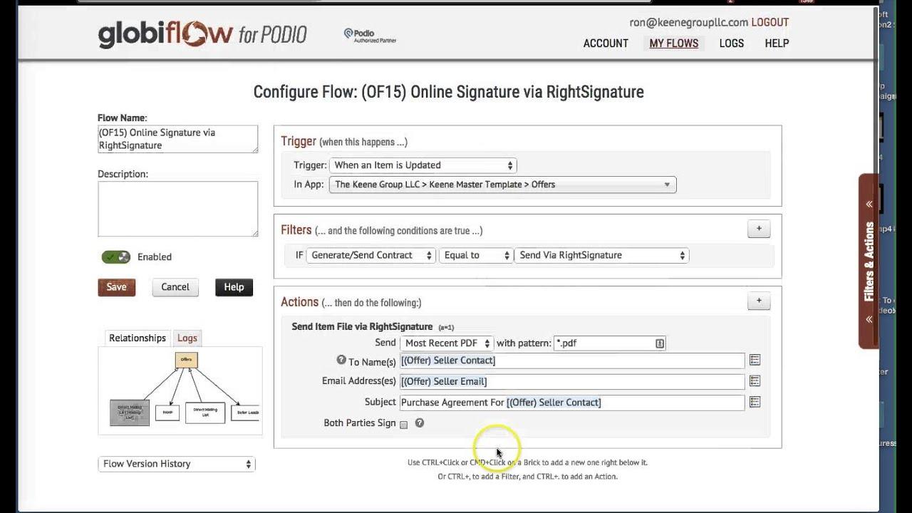 Citrix RightSignature eSignature Software Get Documents