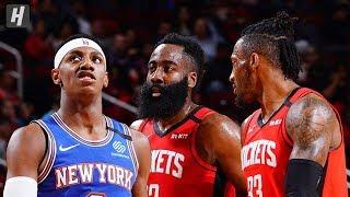 New York Knicks vs Houston Rockets - Full Game Highlights   February 24, 2020   2019-20 NBA Season