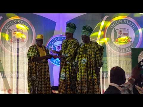 Obasanjo received award of Icon of All Times from Pres BUHARI