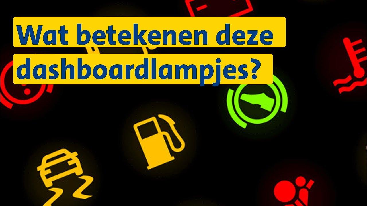 Dashboardlampjes | ANWB Wegenwachttip - YouTube