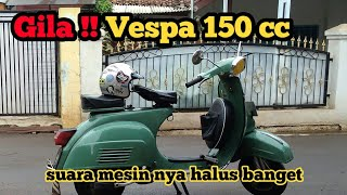 Download Lagu Suara mesin VESPA SUPER 150 Tahun 1977 bikin adem mp3