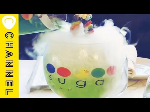 コップから白い煙が!?不思議なドリンク♪|White Smoke Comes out Drink
