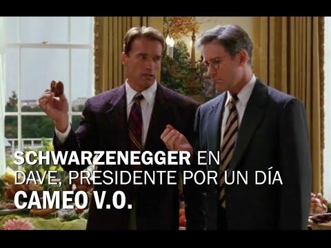 Arnold Schwarzenegger En Dave Presidente Por Un Día 1993 Cameo