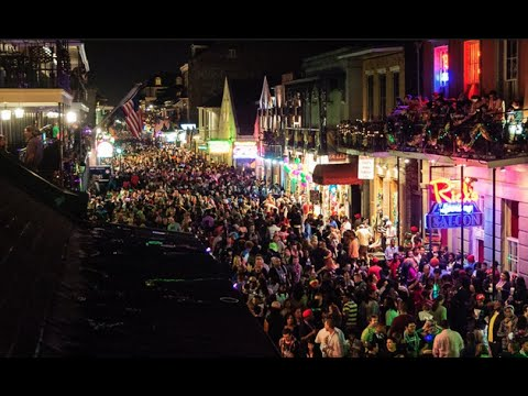 New Orleans: Bourbon St. & Music [GoPro]