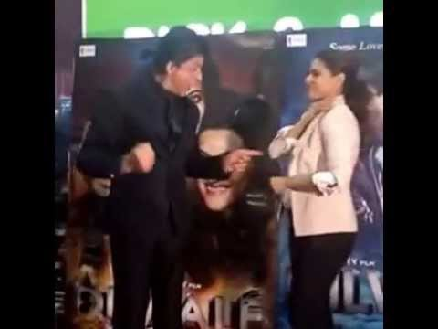 Shah Rukh Khan and Kajol danced on Gerua from Dilwale