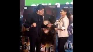 Shah Rukh Khan and Kajol danced on Gerua from Dilwale