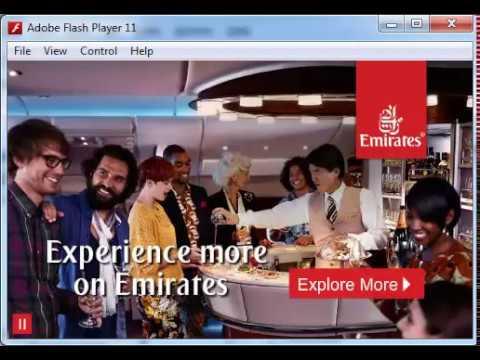 Emirates Flash Ad: Party