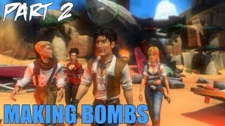 "Jack Keane 2 The Fire Within Walkthrough Part 2 ""Making Bombs"" Gameplay Playthrough PC"