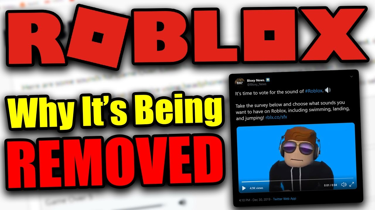 Why Roblox Is Removing The Oof Sound The Real Reason Youtube