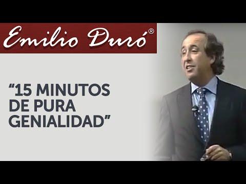 Emilio Duró | 15 Minutos de Pura Genialidad