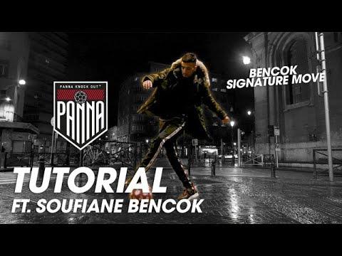 BENCOK Signature Move | PANNA KNOCK OUT Tutorial Ft. Street Football Legend SOUFIANE BENCOK