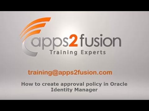 Oracle Identity Manager Training