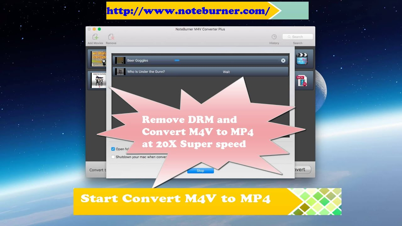 how to remove drm from mp4