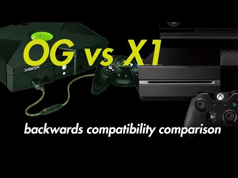 Original Xbox vs Xbox One Backwards Compatible Graphics Comparison