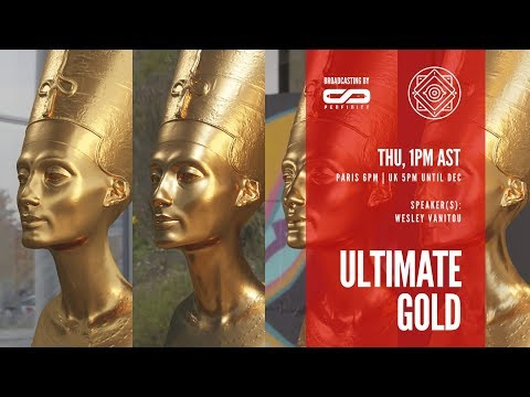 #ONAIR - The ultimate gold shader in Blender's Cycles