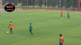 SUASANA LATIHAN TIMNAS U-19 DI STADION UNY JOGJAKARTA
