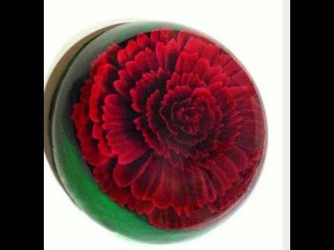 3D GELATIN ART CARNATION FLOWER