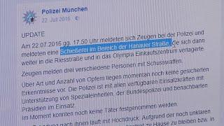 Amoklauf von München - wie die Polizei auf Facebook und Twitter gearbeitet hat