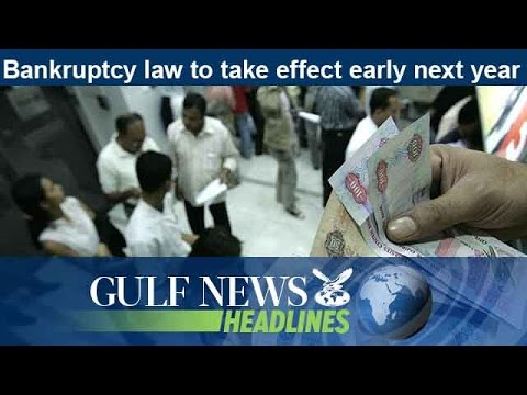 Bankruptcy law to take effect early next year - GN Headlines