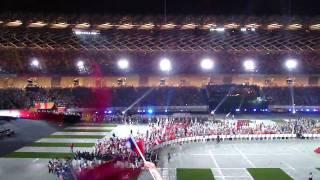 2009.7.16 高雄世運會開幕典禮   台灣進場啦  歡呼聲最大