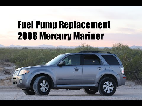 How To Install A Fuel Pump In A 2008 Mercury Mariner