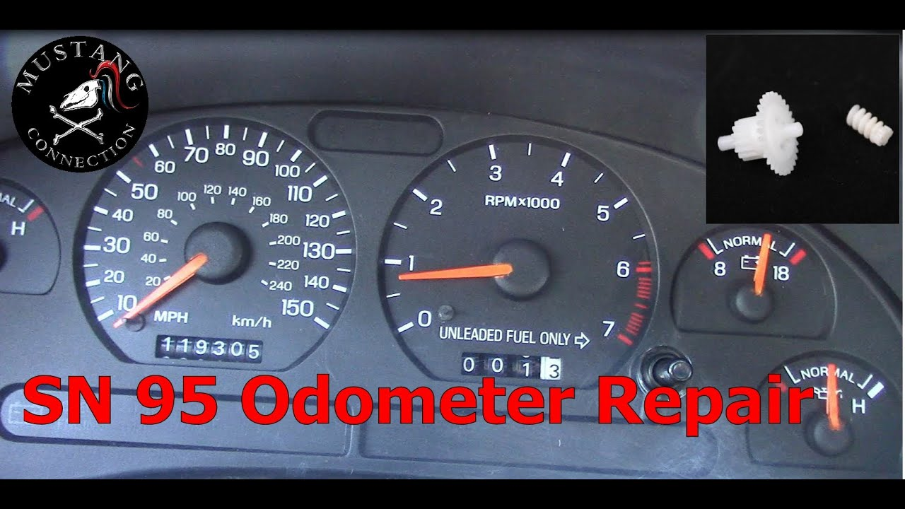 Sn95 Mustang Odometer Repair 1995 Gt Restoration Part 3 8 Fuse Diagram Connection