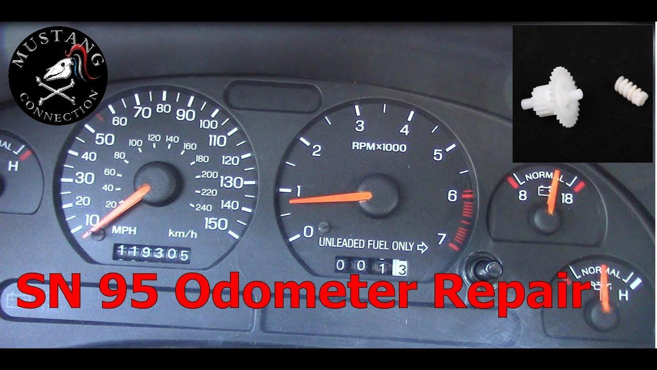 sn95 mustang odometer repair 1995 mustang gt restoration part 3 mustang connection [ 1280 x 720 Pixel ]