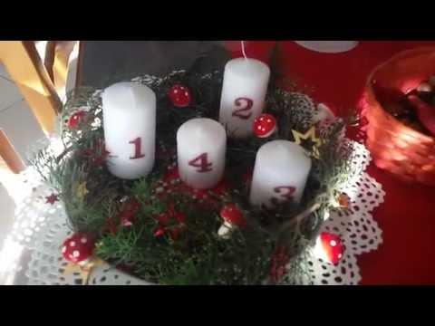 candele dell'avvento  adventskranz