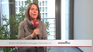 Bundestagsabgeordnete zum Syrien Einsatz  Christine Buchholz (Die Linke)