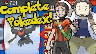 Pokemon Omega Ruby & Alpha Sapphire: Complete National Pokedex + Shiny/Oval Charm ORAS