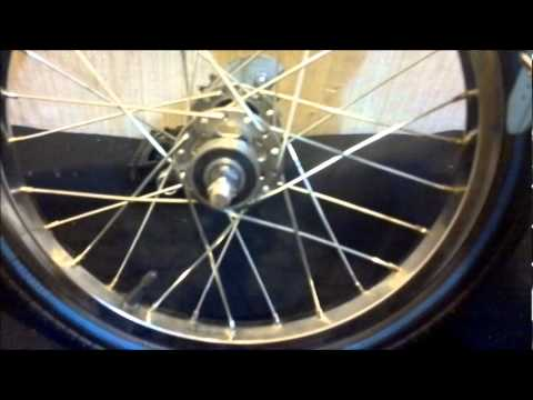 """How To Make A """"Drift Trike"""" Front Wheel."""