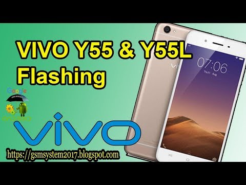 VIVO Y55 & Y55L VIVO 1603 FLASHING - YouTube