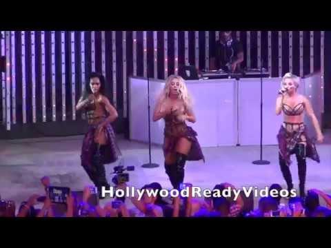 Danity Kane concert at Universal Studios City Walk in Hollywood 07.10.2014