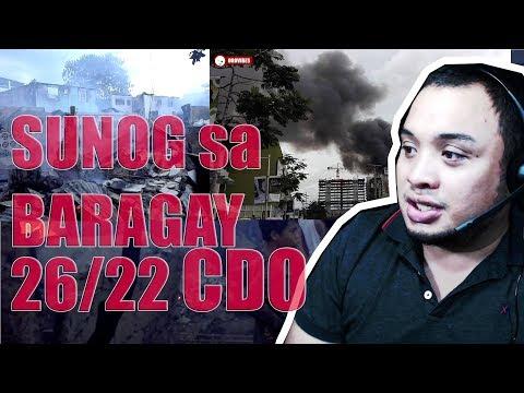 Fire at barangay 22 and 26 Cagayan de Oro City - SUNOG SA BARANGAY 22 OG 26