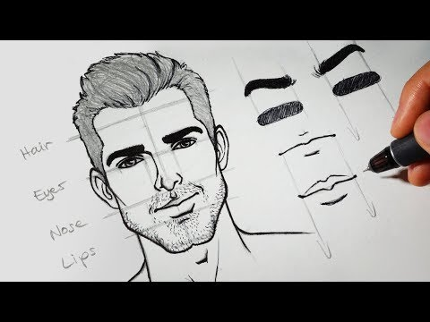 How to Draw Faces for Beginners – SIMPLE | RapidFireArt