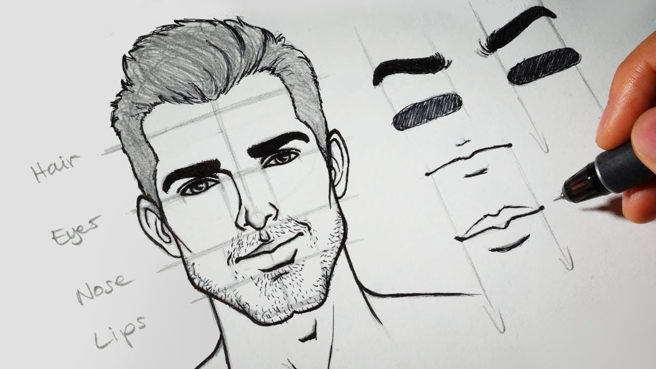 How To Draw Faces Youtube
