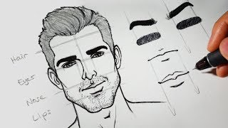 How To Draw + Design Faces Using Wacom Intuos Pro Paper Tablet