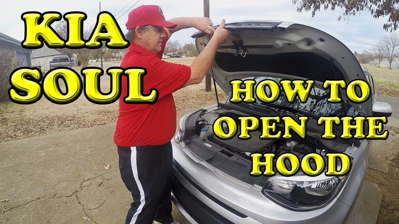 Kia Soul: Hood Latch Replacement
