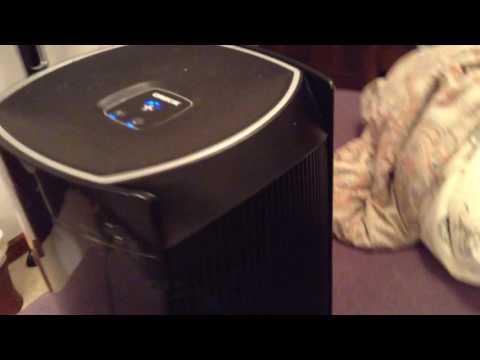 Oreck DualMax air purifier.