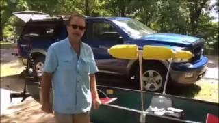 Canoe Stabilizers, 50 lb trolling motor