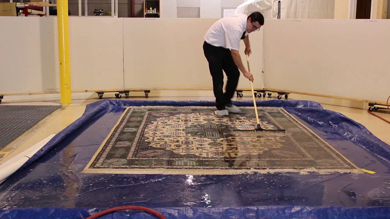 How To Properly Clean Fine Wool Area Rugs Youtube