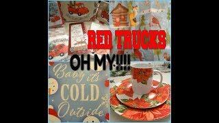 Dollar Tree Haul Monday & RED TRUCKS OH MY!!!