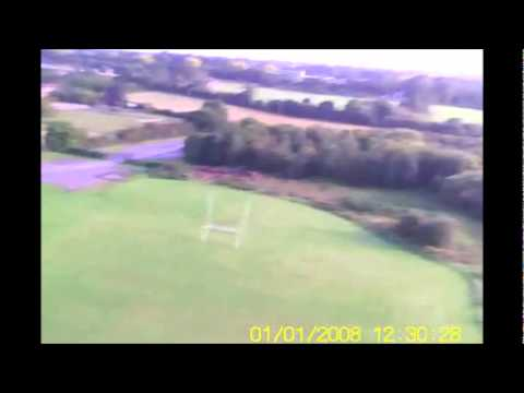 FORMULA MAGIC 3D MODEL AIRPLANE AND ON BOARD FOOTAGE FROM TAILPLANE