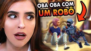Fiz OBA OBA com um ROBÔ!!! (VÍDEO EXCLUSIVO - The Sims 4: Vida Universitária)