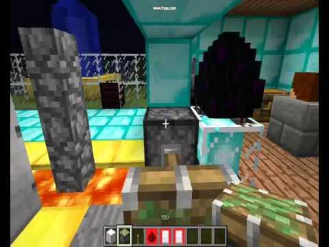 minecraft comment faire une porte blinder youtube. Black Bedroom Furniture Sets. Home Design Ideas