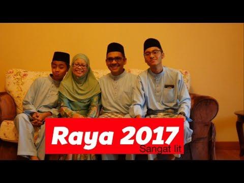 HARI RAYA 2017(bahasa malaysia)VLOG5!!!
