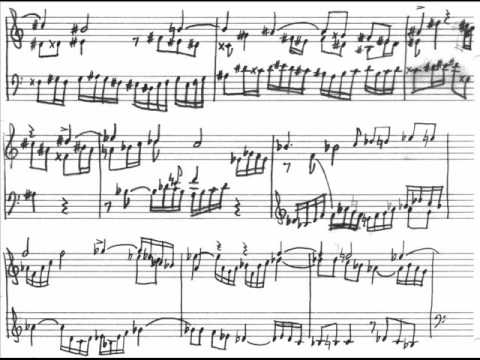 Bach: Endlessly Rising Modulation Canon (with score!)