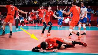 Russia Has Made One of the Greatest Match in Volleyball History !!!