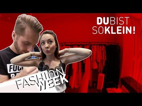 Du bist zu klein! Fashion Week Fitting mit Julia Krüger
